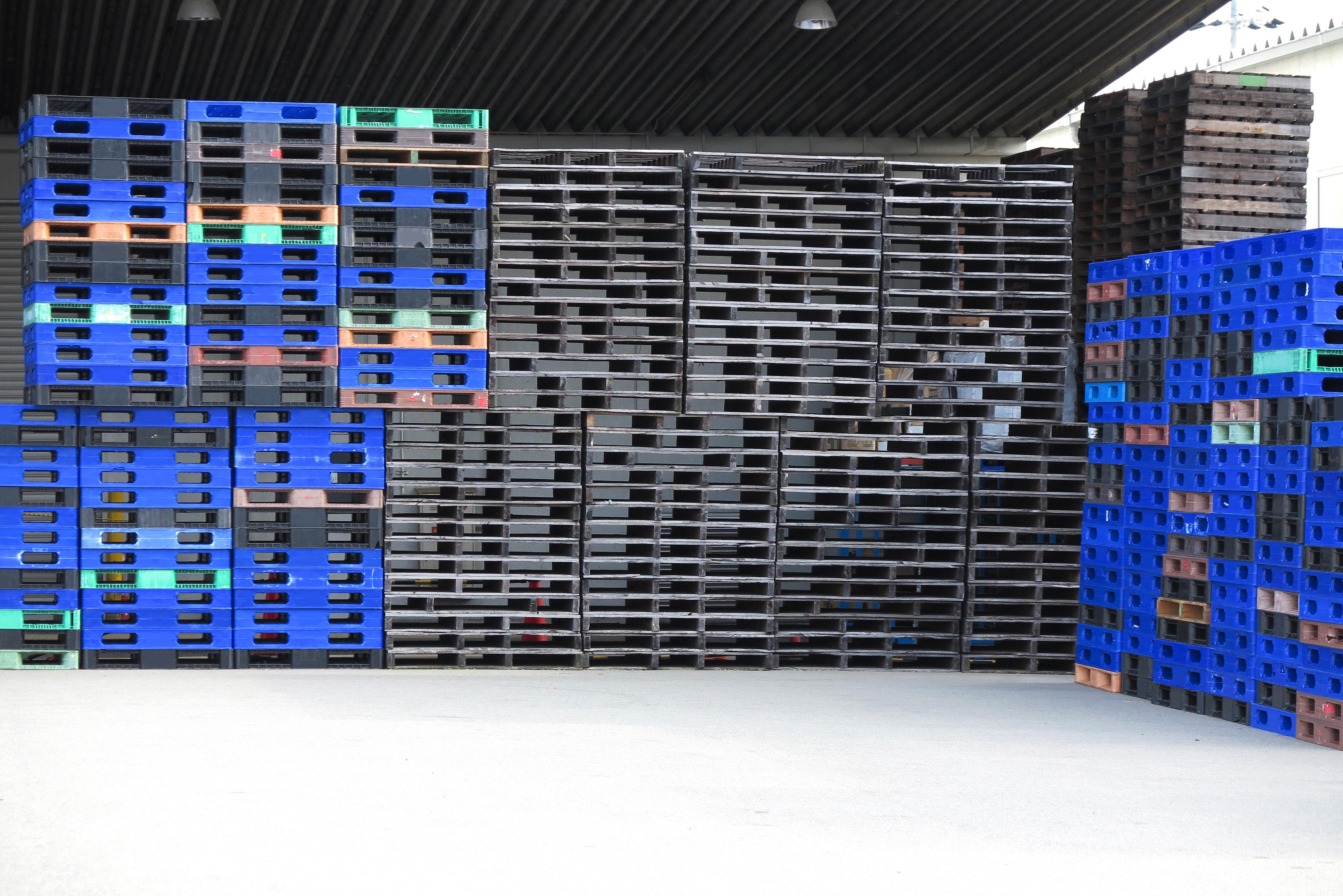 【家電・雑貨(3PLベンダー)】倉庫内保有パレットの実数自動把握