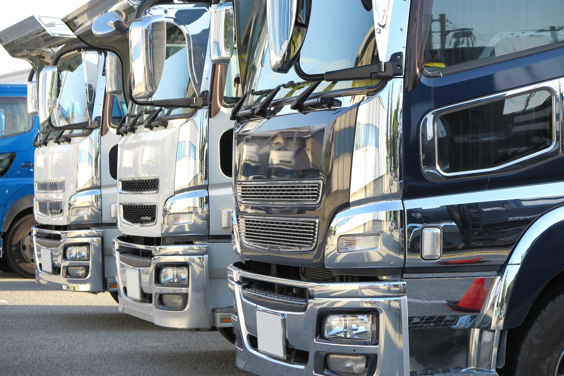 【IoT導入事例】アクティブRFID利用 レンタルトラックの所在管理