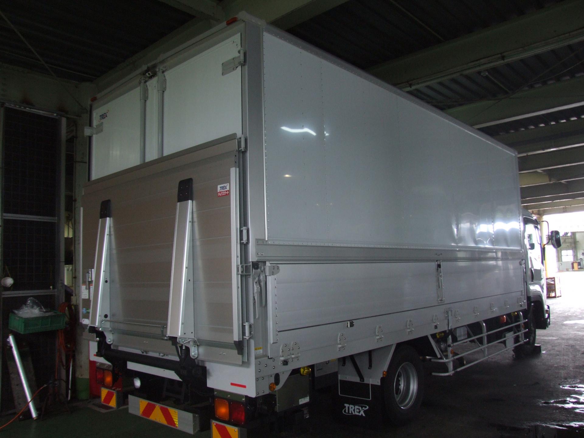 HACCP対応 物流トラックのIoT化による荷台清掃エビデンス