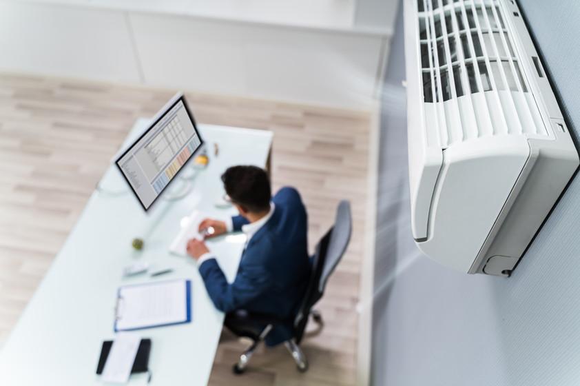 オフィスのエアコン