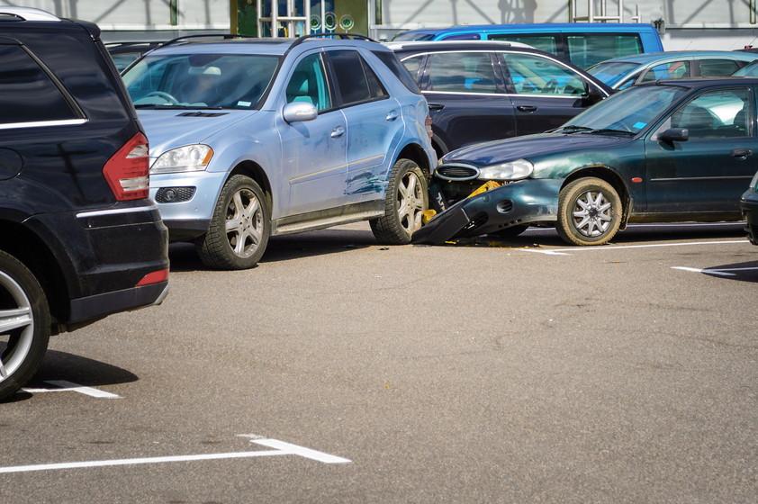 駐車場での事故