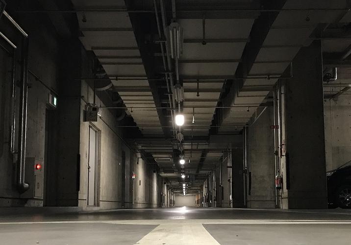 地下駐車場水位異常監視