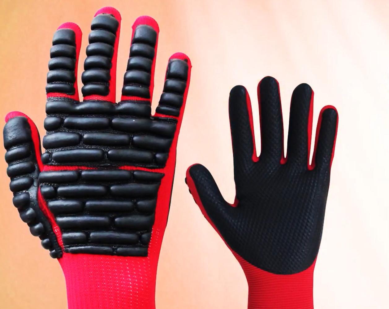 衝撃吸収プロテクト付き手袋【拳護】