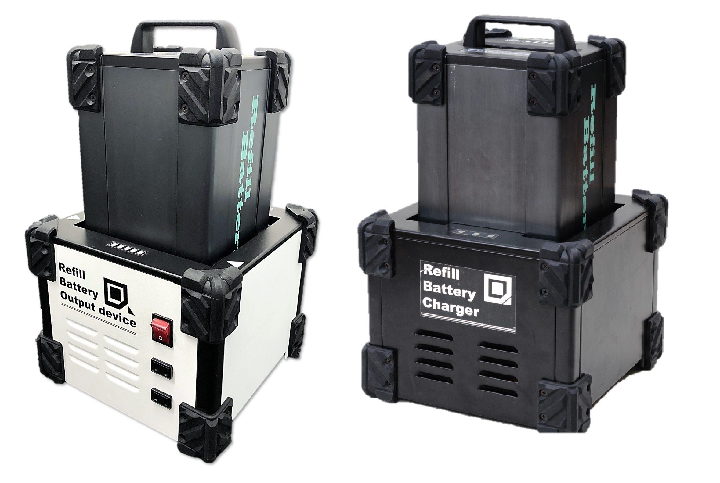 リフィルバッテリー式Portable電源