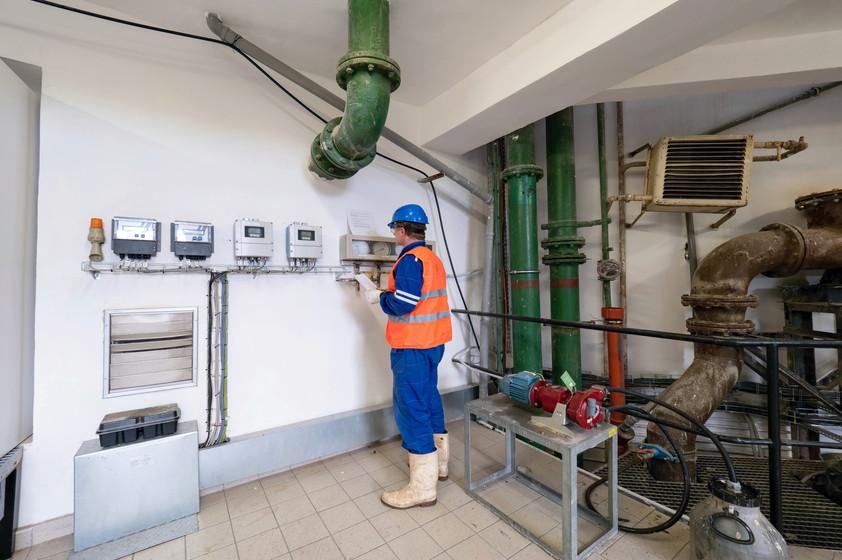 工場の温度管理